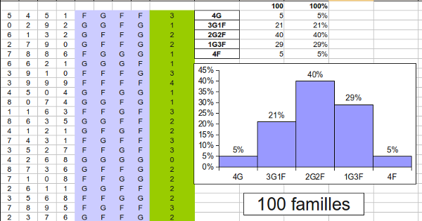 Simulations 100 familles