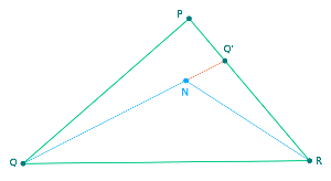 Triangle PQR {PNG}